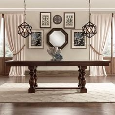 Shop for Flatiron Baluster Extending Dining Table by TRIBECCA HOME. Get free shipping at Overstock.com - Your Online Furniture Outlet Store! Get 5% in rewards with Club O!
