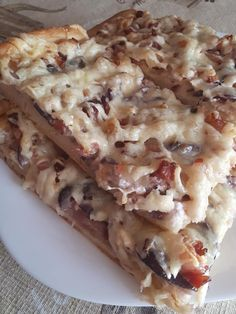 Hungarian Recipes, Pizza, Lasagna, Food And Drink, Bread, Ethnic Recipes, Brot, Baking, Breads