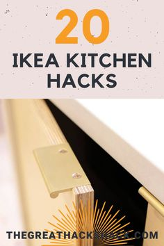 Ikea make great kitchens, but you can add some extra customisation by transforming some of their other products. These Ikea kitchen hacks show you how. #ikeakitchen #ikeakitchenhacks #kitchenhacks #ikeahacks #ideas Ikea Kitchen Trolley, Outdoor Kitchen Cabinets, Farmhouse Kitchen Decor, Semarang, Ikea Napkins, Layout Design, Ikea Island, Ikea Furniture Hacks, Ikea Hacks