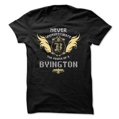 awesome BYINGTON T-shirt Hoodie - Team BYINGTON Lifetime Member