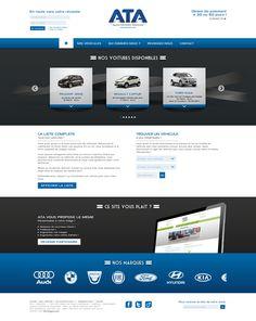 ATA Automobile - idéveloppement : création de site internet bordeaux #frontend #backend