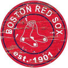 Distressed Wood Wall, Distressed Signs, Date, Boston Red Sox Logo, Windmill Wall Decor, Red Sox Baseball, Baseball Stuff, Red Sox Nation, Mlb Teams