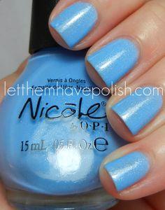 Nicole by O.I Kardashian Kolors Spring 2012 nothing kim pares to blue