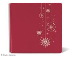 12 x 12 Be Merry coverset!  So beautiful with the foil detail on the front!  www.mycmsite.com/dfadler