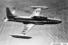 April 16, 1949: First flight of the Lockheed F-94 Starfire, the USAF's first operational jet-powered all-weather interceptor aircraft.