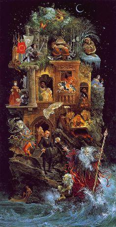 Художник James C Christensen (189 работ)