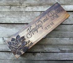 Custom Rustic Wedding Wine Box First Fight Box by arrowsarah, $65.00