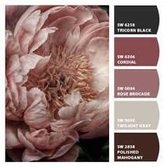 Love this color palette...deep and romantic.