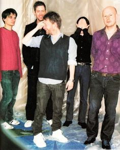#Radiohead - Oxford, 2007 - Snoozer session - By  Jason Evans