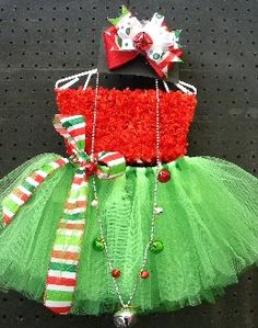 Christmas tutu, cute for Christmas pictures