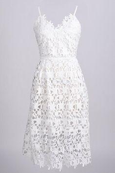 Cupshe Kiss Me Lace Dress