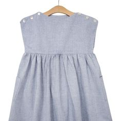 Rosie Dress • Chambray | Little Cotton Clothes