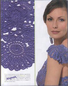 Edivana Croche: Lindo Conjunto Azul
