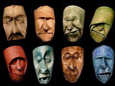 Le maschere di carta
