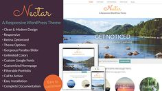 I'm super thrilled to announce my latest #WordPress theme: Nectar!  Nectar is a responsive WordPress theme featuring easy customization, retina optimization, and a clean design. It has a parallax slider and extensive options for homepage customization.