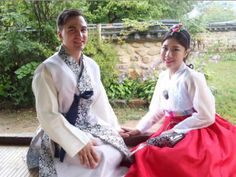 Jason Lamb and Aesu Choi in Korea.  On Jan. 21' they will be married.