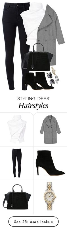 """Unbenannt #1952"" by luckylynn-cdii on Polyvore featuring STELLA McCARTNEY, Aganovich, Emporio Armani, Fendi, Christian Dior and Rolex"