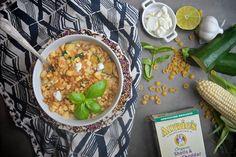 Zucchini Corn Mac & Cheese // shutterbean