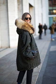 The Best New York Fashion Week Street Style: Fall 2015  - HarpersBAZAAR.com: