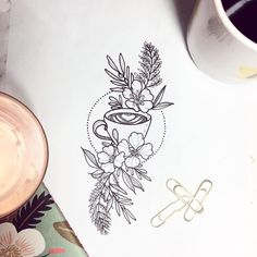"1,114 Likes, 45 Comments - NATHALYBONILLA *tattoo*  (@nathalybonilla) on Instagram: ""Details that make the difference ☕️ How many memories  around a nice cup of coffee!/// Detalles…"""