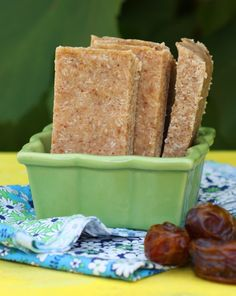 Vanilla and Toasted Coconut Bars (Gluten-Free, Grain-free, Dairy-free)