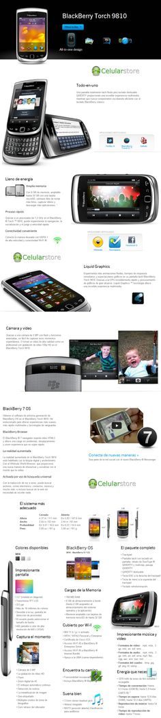 Blackberry Torch 9810 4G Libre - Celular Store