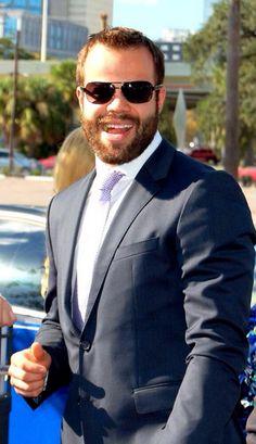 Radko Gudas of the Tampa Bay Lightning! Fear the beard.