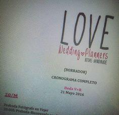 ¡No doy abasto! ¡Montando cronogramas, para mis #Lovers, como una LOCA! Los ojos cuadraos y el culo igual ¿y miiiiiñana otra vez lunes? No será verdad, ¿no?  ¿Cómo va vuestros dominguito?  ¡Besiiiiitos gordos y sonoros pa la gente buena del mundo mundial!  LOVE #love #amor #domingo #sunday #wedding #weddingplanner #weddingplannerCádiz #Cádiz #timetable #horario #turismo #tourism #Melilla #Stradivarius #boda #bodasbonitas #bodasunicas #handmade #deco #pink #rosa #evento