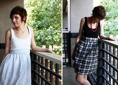 Simple dress... I should try this...