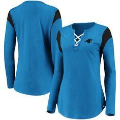 Panther Logo, Lace Up T Shirt, Nfl Carolina Panthers, Nfl T Shirts, Nfl Pro, Mens Fashion, Female, Eye, Long Sleeve