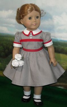 1950s-All-Occasion-Dress-Made-by-KMKdollshop-fits-Popular-18-Inch-Dolls. SOLD for $59.50 on 7/5/15