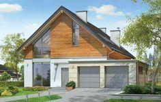 Projekt Jurajski to propozycja dla rodziny cztero-pięcioosobowej. Jednorodzinny dom parterowy z poddaszem użytkowym o prostej bryle, łączącej w sobie elementy tradycji - dwuspadowy dach, i nowoczesności - współczesny detal, materiały i rozplanowanie powierzchni wewnątrz. Dom Jurajski ma niemałą powierzchnię, zaprojektowano go z myślą o wygodzie czy wręcz luksusie przyszłych użytkowników. Jednocześnie zwarta podłużna bryła pozwoli posadowić budynek na wąskiej działce, tak często spotykanej.