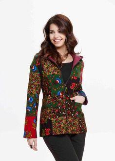 Pazen çeket , #ceket #pazen Moslem Fashion, Diy Embroidery, Refashion, Pattern Fashion, Dress Up, My Style, Hair Styles, Womens Fashion, How To Wear