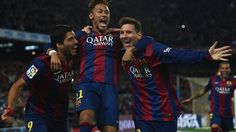 102 goals for the FC Barcelona 'trident': Leo Messi, Neymar and Luis Suárez  28.04.2015