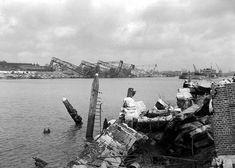 Tweede Wereldoorlog Rotterdam (jaartal: 1940 tot 1945) - Foto's SERC