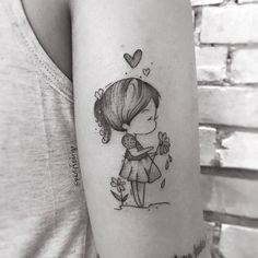 Prepare-se para um verdadeiro espetáculo de arte em Porto Alegre: Inked Art Tattoo Fest Mommy Tattoos, Father Tattoos, Small Girl Tattoos, Dream Tattoos, Tattoos For Kids, Love Tattoos, New Tattoos, Hand Tattoos, Tatoos