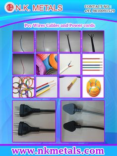 Buying Tips for pvc Wires  Cables and power cords   Read Blog:  http://nkmetals.blogspot.in/2015/09/buying-tips-for-electrical-wire-and.html