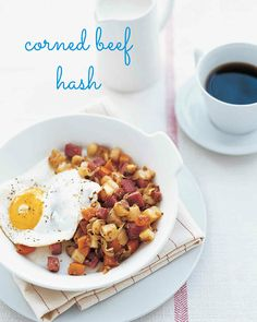 Have lots of leftover corned beef from your St. Patrick's Day dinner? Use it to make a tasty corned beef and root vegetable hash as breakfast.