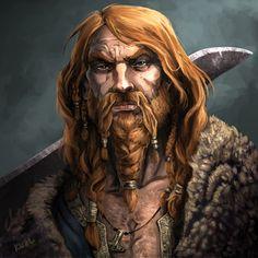 Egil, Thane Uthred's Huskarl by chriskuhlmann.deviantart.com on @deviantART