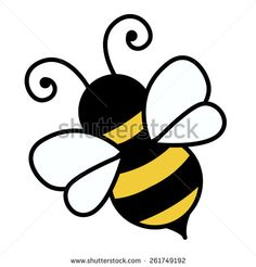Bumble bee free cute bee clip art an illustration of a cute bee . general shape of the bee, which makes for a good reference for the bee in my logo Bee Free, Cute Bee, Bee Crafts, String Art, Painted Rocks, Doodles, Clip Art, Embroidery, Quilts