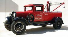 1931 Ford Model AA Ford Crane & Cradle truck...