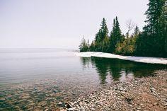 Os maiores lagos do mundo