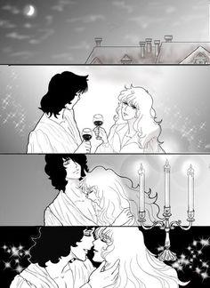 A romantic night.