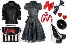 want this outfit! Rockabilly, pin up