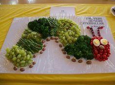 Very Hungry Caterpillar veggie tray
