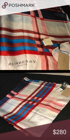 Burberry shall Silk New Made of silk with gift box Accessories Scarves & Wraps