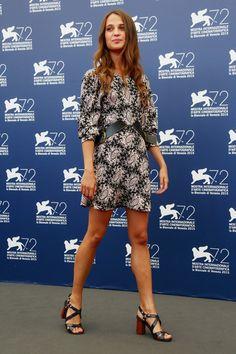 Alicia Vikander Photos - 'The Danish Girl' Photocall - 72nd Venice Film Festival - Zimbio