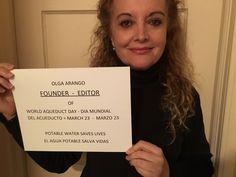 https://www.facebook.com/worldaqueductday PEACE AND POTABLE WATER GO TOGETHER. BOTH SAVE LIVES.  =  LA PAZ Y EL AGUA POTABLE VAN JUNTAS. AMBAS SALVAN VIDAS. =  World Aqueduct Day  -  Dia Mundial del Acueducto, March 23 New York - Bogota