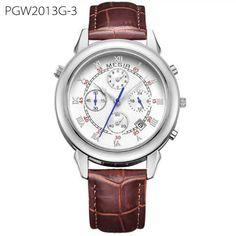 Original Military Watch Men Quartz Wristwatch Clock Genuine Leather Bracelet Roman Dial Classic Watches