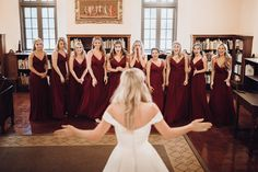 Nothing quite puts you in the spirit more than today's burgundy and evergreen Christmas wedding complete with Santa and a guest appearance by Frosty. Warm Colour Palette, Warm Colors, Color Palettes, Wedding Looks, Wedding Day, Green Pocket Square, Velvet Bow Tie, Single Red Rose, Strictly Weddings